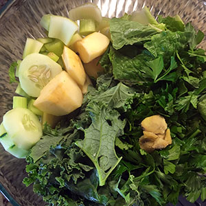 Veggies for Greens Juice