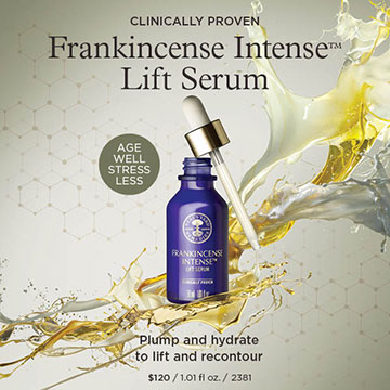 Neal's Yard Remedies Organic Frankincense Intense Lift Serum https://us.nyrorganic.com/shop/heidihackler/area/shop-online/category/what-s-new/product/2381/frankincense-intense-lift-serum-1-01-fl-oz/