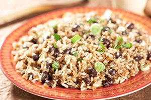 Quick and Easy Healthy Meals: Rice and Beans